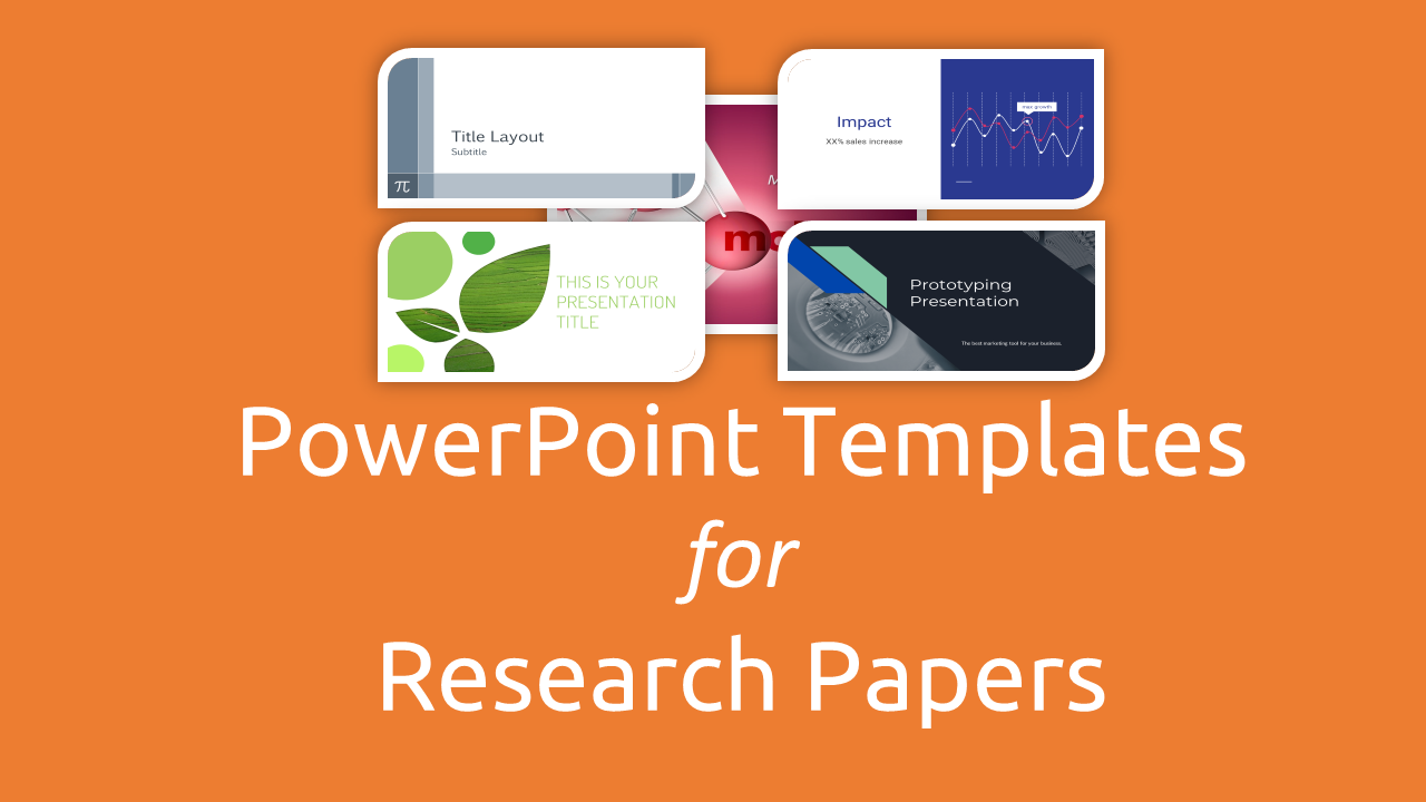 free powerpoint templates for research papers presentation